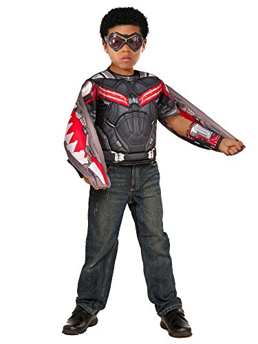 Falcon Captain Costume America (Marvel Captain America: Civil War Boxed Falcon Muscle)