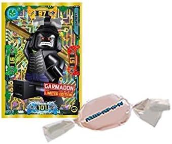 Blue Ocean Lego/® Ninjago/™ Trading Cards Serie 5 LE 9 Garmadon Limited Edition zus/ätzlich 1 x Fruchtmix Sticker-und-co Bonbon