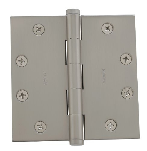 Baldwin 1045150I Satin Nickel General Hardware 4.5