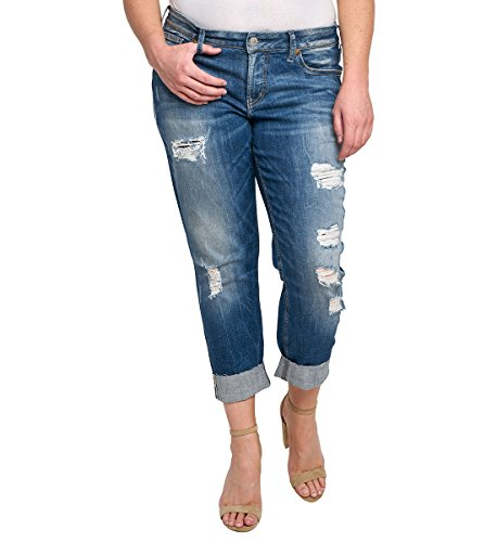 Destructed Boyfriend Jeans - 8