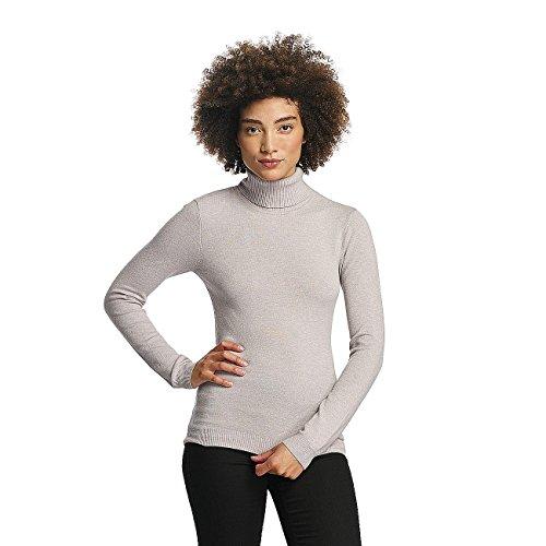 Vero Moda Mujeres Ropa superior / Jersey vmHappy Rollneck gris