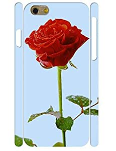 3D Print Flower Pattern Individualized Tough Phone Snap On Case for Iphone 6 4.7 Inch