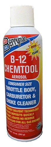 Berryman Products 0110C B-12 Chemtool Carburetor Choke and Throttle Body Cleaner 10 oz.