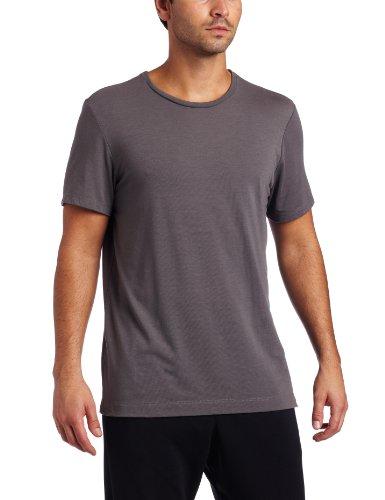 New Balance Men's Short Sleeve Tech Tee (Asphalt, ()