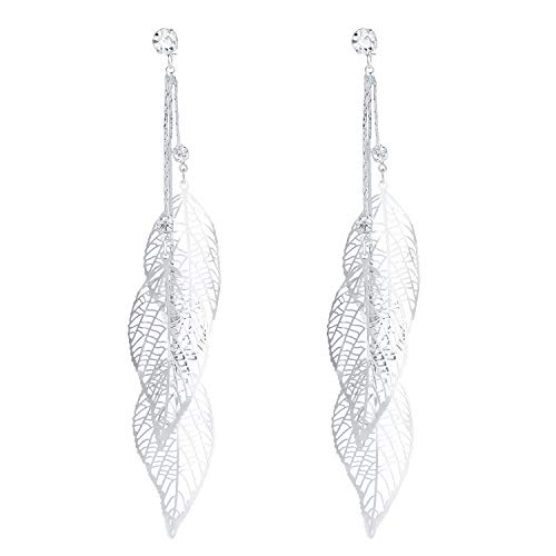 SILVERAL Silver Earrings Crystal Pierced product image