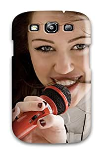 Best 5517159K26812047 Anti-scratch And Shatterproof Miley Cyrus 54 Phone Case For Galaxy S3/ High Quality Tpu Case