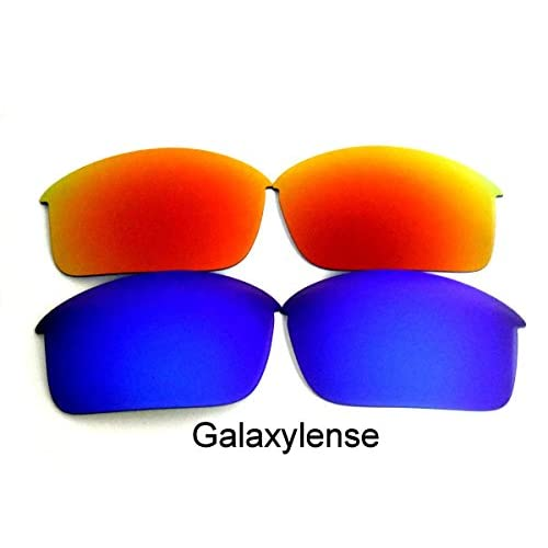 5aa377be9e Galaxy Lentes De Repuesto Para Oakley Bottle Rocket azul y rojo Polarizados,GRATIS  S&H -