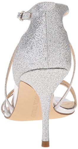 Ivanka Garis2 Dress Sandal Trump Silver Women's FFwvHqa