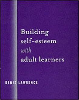adult esteem Building self in
