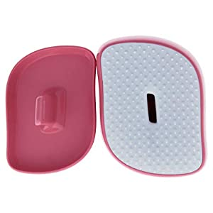 Tangle Teezer Hello Kitty Compact Styler Detangling Hairbrush, Pink-white
