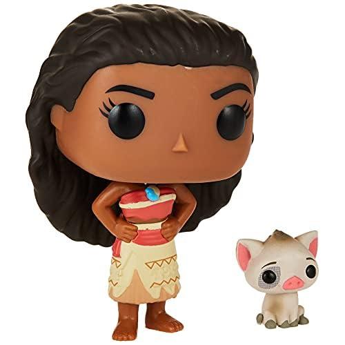 Funko POP Disney: Moana - Moana & Pua Action Figure , Brown , Standard