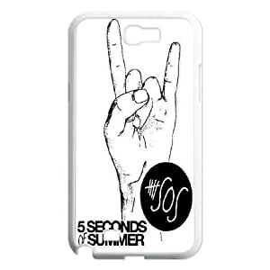5 Second of Summer-5SOS Band music band for fans protective durable cases For Samsung Galaxy Note 2 Case SP84797730