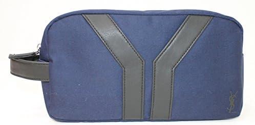 YSL - YVES SAINT LAURENT AZUL Trousse/Estuche/Bolsa de aseo NUEVO: Amazon.es: Belleza
