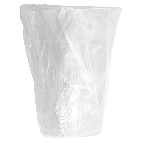 Wna Comet AP0900W 9 oz Wrapped Tall Plastic Drink Cups44; Translucent - Case of 1000