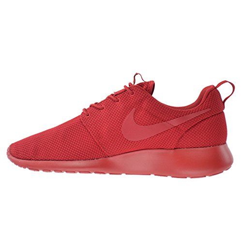 Men's Rosherun White Red Nike 001 Grey 655206 Print Varsity AOwOdSPq