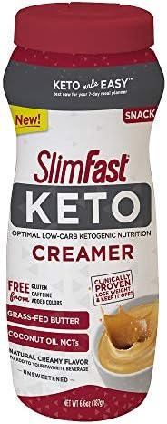 SlimFast Ketogenic Creamer 6 6oz Servings product image