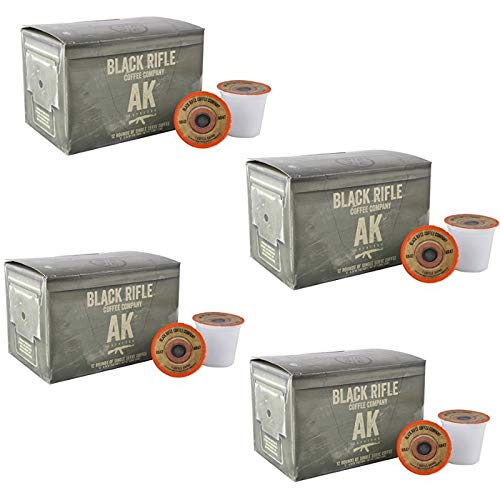 Black Rifle Coffee Company AK-47 Coffee Rounds for Single Serve Brewing Machines (12 Count) (2 Pack)