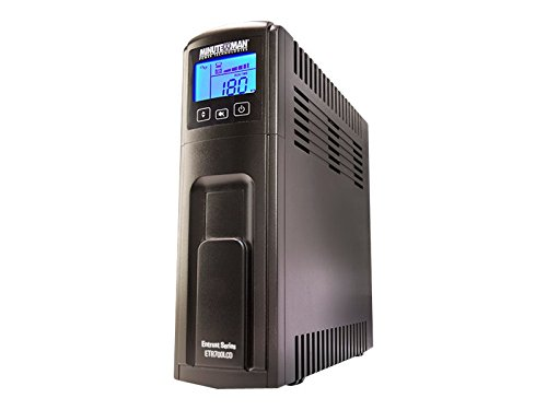 Minuteman Power Technologies Line Interactive AVR Tower UPS Power Supply (ETR550LCD)
