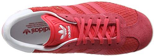 Adidas Donna core White Rosa Scarpe Gazelle core Basse Ginnastica W Pink off Da rxwqrYvgf