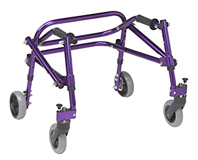 Inspired by Drive Nimbo 2G Lightweight Posterior Walker, Wizard Purple, Extra Small
