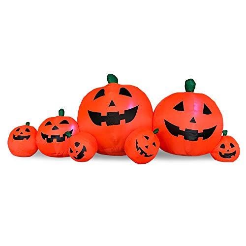 8.5FT Inflatable Pumpkin Patch Halloween Decoration Indoor Outdoor Autumn Fall Harvest