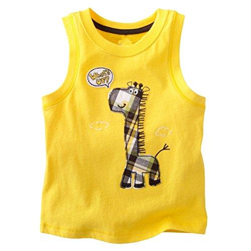 Baby Box Baby Boys' kids Toddler Sleeveless Tank T-Shirts size 18M
