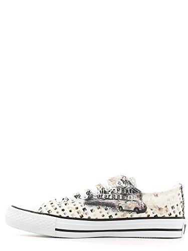 YNOT? S16-SYW212 Sneakers Damen Gewebe Bianco