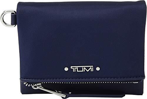 TUMI - Voyageur Flap Card Holder Case - Compact Wallet for Women - Ultramarine (Cowhide Flap)