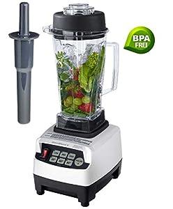 Profi Smoothie Maker Power Mixer Blender Icecrusher Weiß 2,0 l BPA-FREI mit...
