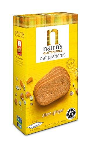 (Nairn's Gluten Free Oat Grahams, Stem Ginger, 5.64oz)