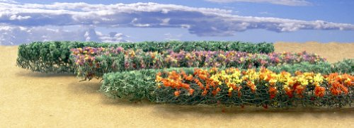 JTT Flower Hedges HO-Scale (Green, Assorted)