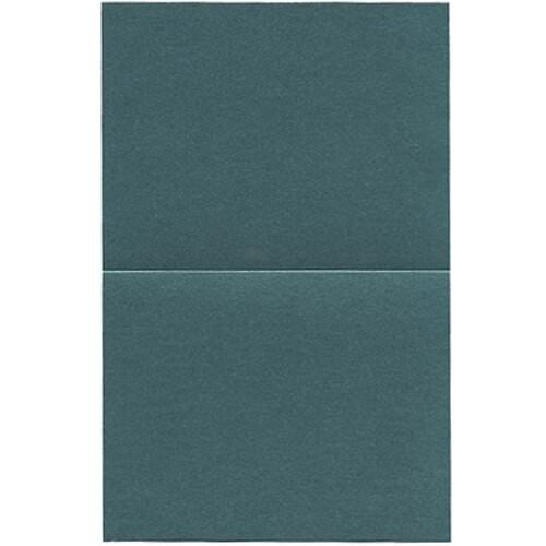 UPC 640522135936, 4 1/4 x 5 1/2 (fits inside an A2 envelope) Stardream Metallic Emerald Foldover Cards - 50 cards per pack