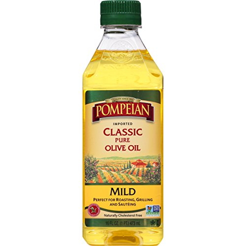 Pompeian Classic Pure Olive Oil, 16 Ounce