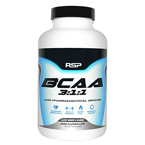 Rsp Nutrition BCAA 3:1:1 200 Capsules