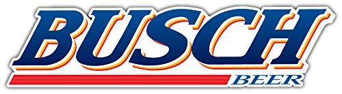 Busch Beer Slogan Logo Sticker Car Bumper Decal 8'' X 2'']()