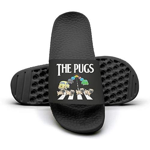 Mules The pug adipugs cosplay Woman Slides dog Summer Slippers 1 Pug Dog Sandals w06xzTqzd