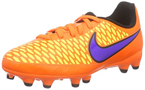 Nike Young Magista Onda Sol Ferme (total Orange / Laser Orange / Hyper Punch / Violet Persan)
