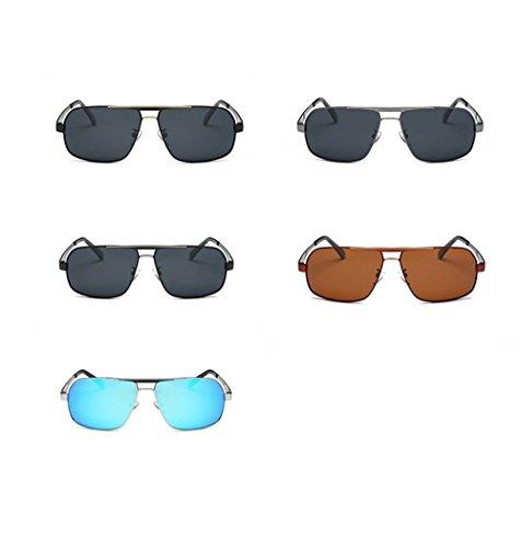 soleil Ice Silver de des Edge lunettes conduisant de Conducteur lunettes Blue CHshop Iqga8