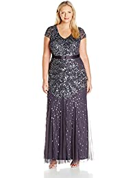 Amazoncom Plus Size Formal Dresses Clothing Shoes Jewelry
