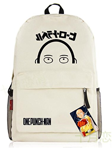 YOYOSHome One-Punch Man Anime Saitama Genos Cosplay Messenger Bag Backpack School Bag (Super Sonic Costume)