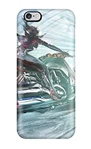 Fashion Case Cover For Iphone 6 Plus(bike Girl) 2876655K18250047