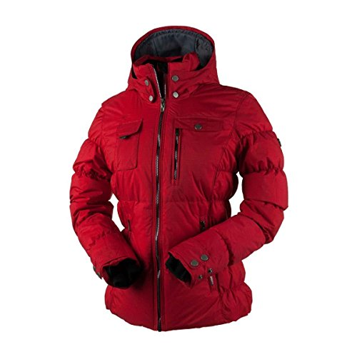 [Obermeyer Leighton Womens Insulated Ski Jacket - 16/Crimson] (Ladies Snowboard Clothing)