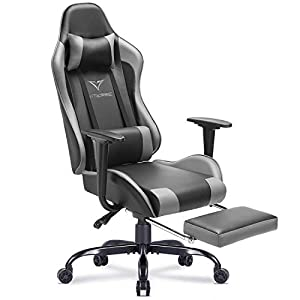 Vitesse Gaming Chair with Footrest Racing Style