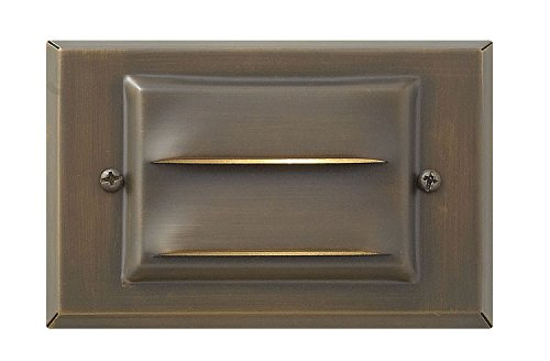 Hinkley Lighting Landscape Deck Light - Hardscape Deck Light to Illuminate Exteriors and Increase Home Security, Matte Bronze Finish, Hardy Island Collection, 1546MZ-LED