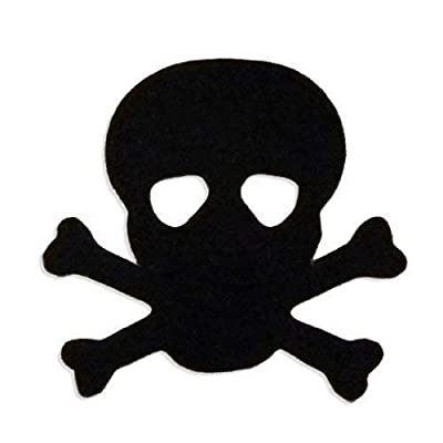 Skull & Crossbones Pirate Tanning Stickers 1000 Roll by Tanning Stickers: Beauty