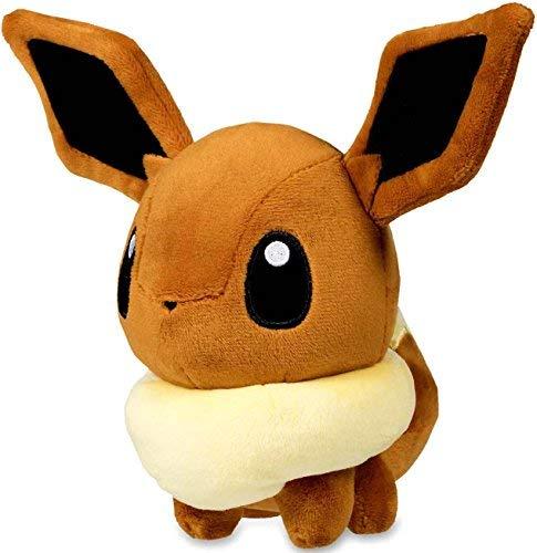Eevee Pokemon Plush - Pokemon Center Original (7-Inch) Stuffed Poke Plush Eevee Doll (Eievui)