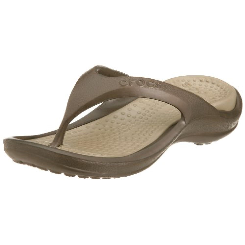 Crocs Kids Athens Kids Unisex Footwear, Size:12-13 Child UK , Color: Chocolate/Khaki