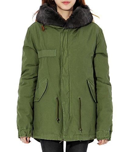 wiberlux-mr-and-mrs-italy-womens-gray-fur-lined-field-jacket-fur-trimmed-hood-s-olive