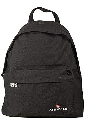 Airwalk black backpack  Amazon.co.uk  Sports   Outdoors 9dd52afb2aa6a