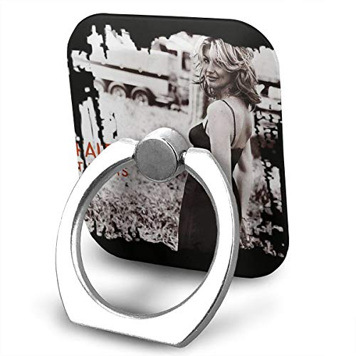 EdithL Faith Hill The Hits Phone Ring Stand Holder Finger Grip Stand, Car Mount 360 Degree Rotation Universal Phone Ring Holder Kickstand for iPhone/iPad/Samsung ()